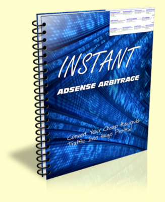 Pay for Instant Adsense Arbitrage PLR