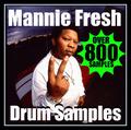 Thumbnail 800 MANNIE FRESH DRUM SAMPLES