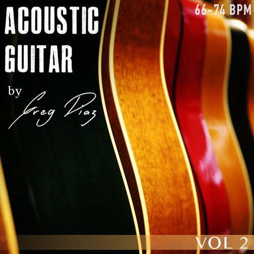 Pay for Greg Diaz Acoustic Guitar Vol 2 - 1/2 Price Sale