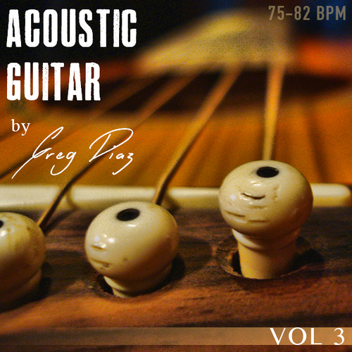 Pay for Greg Diaz Acoustic Guitar Vol 3 - 1/2 price Sale