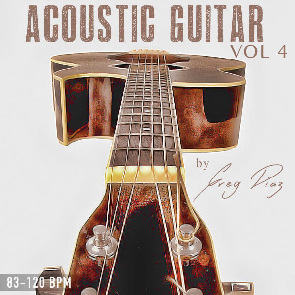 Pay for Greg Diaz Acoustic Guitar Vol 4 - 1/2 Price Sale