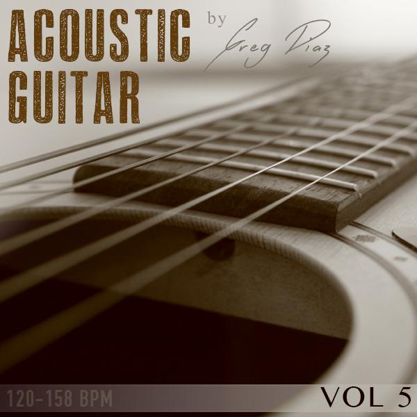 Pay for Greg Diaz  Acoustic Guitar Vol 5 - 1/2 price Sale