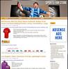 Thumbnail Sports Fan PLR Amazon Store Website