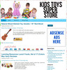 Thumbnail Kids Toys PLR Amazon Turnkey Store Website