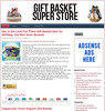 Thumbnail Gift Baskets PLR Amazon Pre-Loaded Store Website
