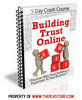 Thumbnail Building Trust Online PLR Autoresponder Messages