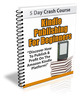 Thumbnail Kindle Publishing For Beginners PLR Autoresponder Messages