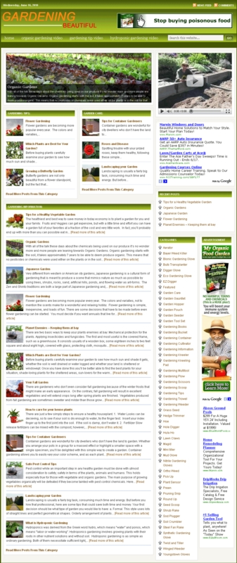 Pay for Gardening PLR Amazon Store Website with private label rights