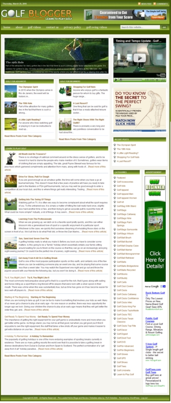 Pay for Golf PLR Amazon Turnkey Store Website - 1100 products