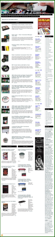 Thumbnail Poker PLR Amazon Store Website with private label rights