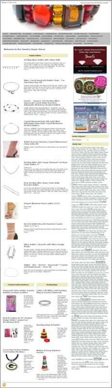 Thumbnail Womens Jewelry PLR Amazon Store Website