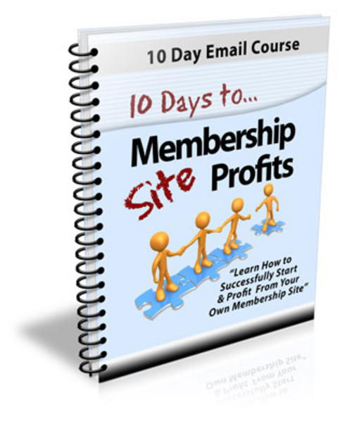 Pay for 10 Days to Membership Site Profits PLR Autoresponder Message
