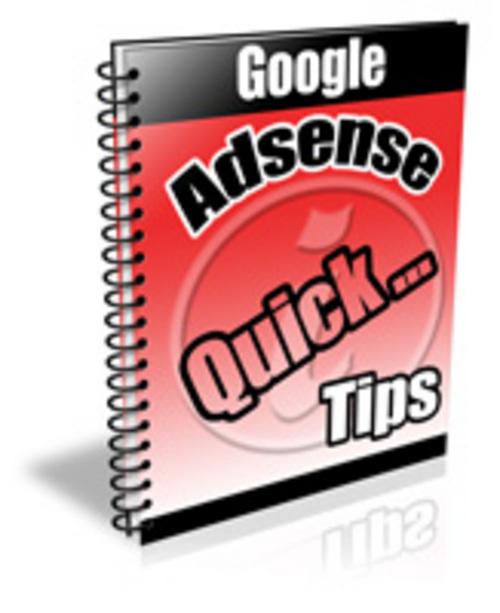 Pay for Adsense Quick Tips PLR Autoresponder Messages