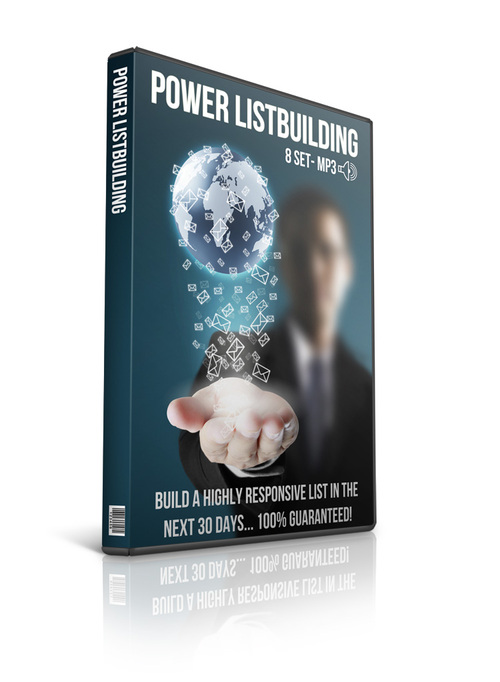 Pay for Power Listbuilding PLR Audio with Private Lable Rights