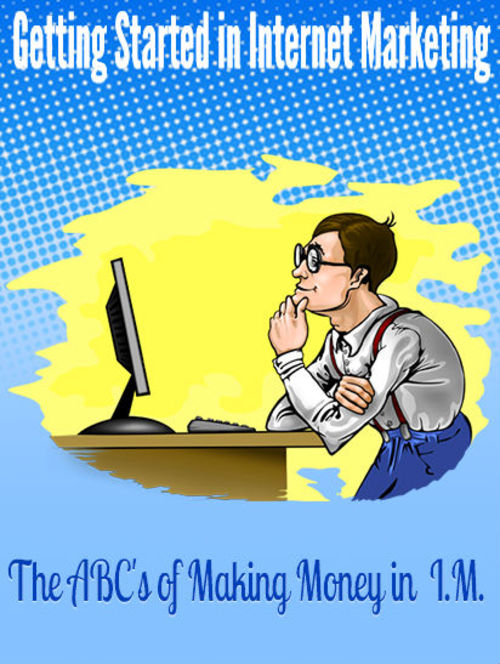 Pay for  Getting Started in Internet Marketing  Master Resale Rights
