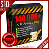Thumbnail (EXCLUSIVE) 140,000 PLR Articles plus 9 SPECIAL BONUS