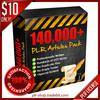 Thumbnail (EXCLUSIVE) 140,000 PLR Articles plus 9 SPECIAL BONUS