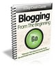 Thumbnail Blogging From The Beginning (5-Day Training Course) PLR