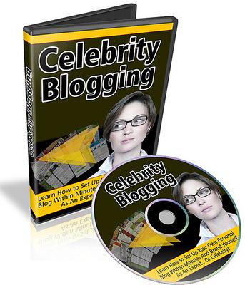 Pay for Celebrity Blogging Video Tutorials (MRR)