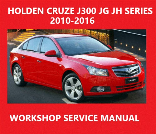 Pay for HOLDEN CRUZE J300 JG JH SERIES 2010-16 MANUAL