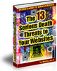 Thumbnail The 13 Serious Death Threats to Your Websites w/mrr