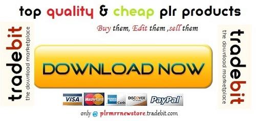 Thumbnail Resale Rights Profits - Quality PLR Download
