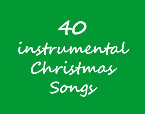 Pay for 40 instrumental Christmas music tracks