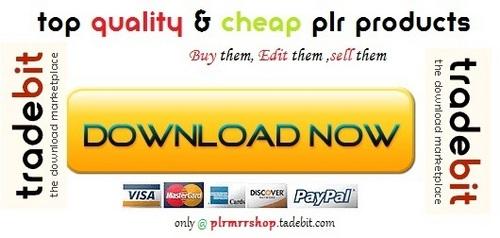 Thumbnail Habit Reconstruction Project - Quality PLR Download