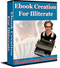 Thumbnail Ebook Creation For Illiterate - New ebook with PLR