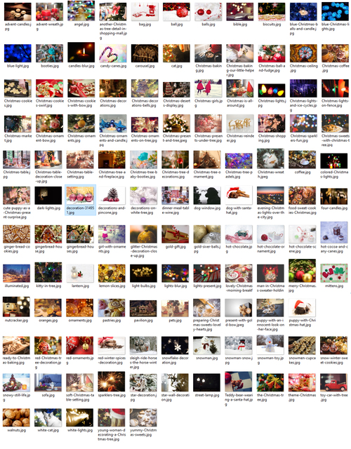 Pay for 125 Christmas Images Royalty Free Personal or Commercial Use