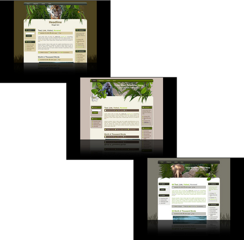 Pay for Wildlife Wordpress themes and website templates package