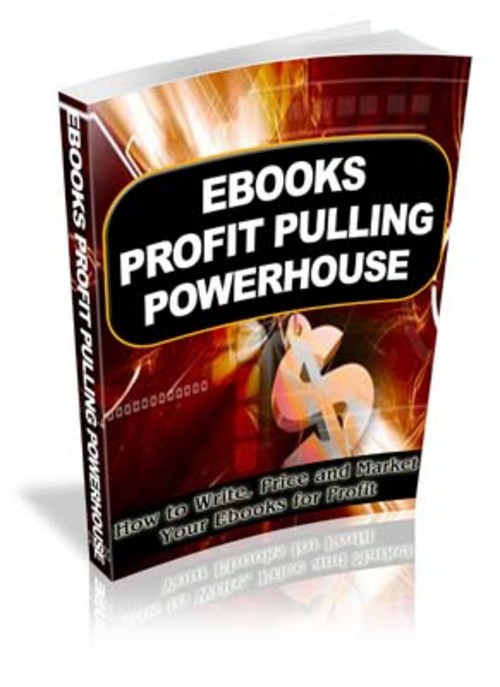 Pay for EBooks Profit Pulling Powerhouse - With MRR