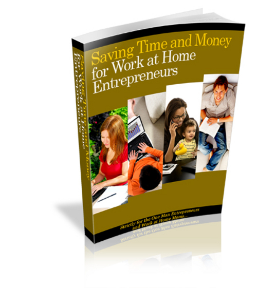 Pay for Saving Time And Money - New ebook with PLR