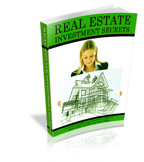 Pay for Real Estate Investment Secrets - New ebook with PLR