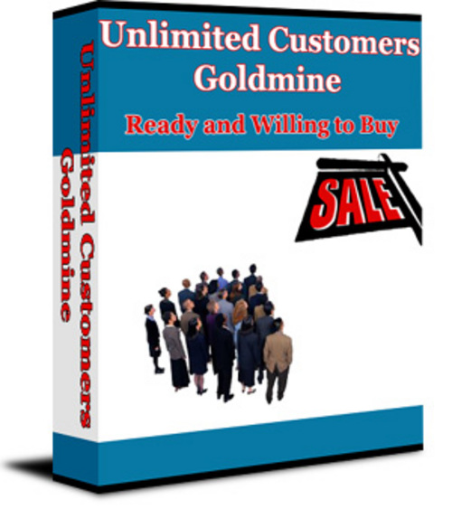 Pay for Unlimited Customers Goldmine - New ebook with PLR