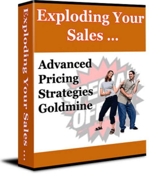 Pay for Exploding Your Sales - New ebook with PLR