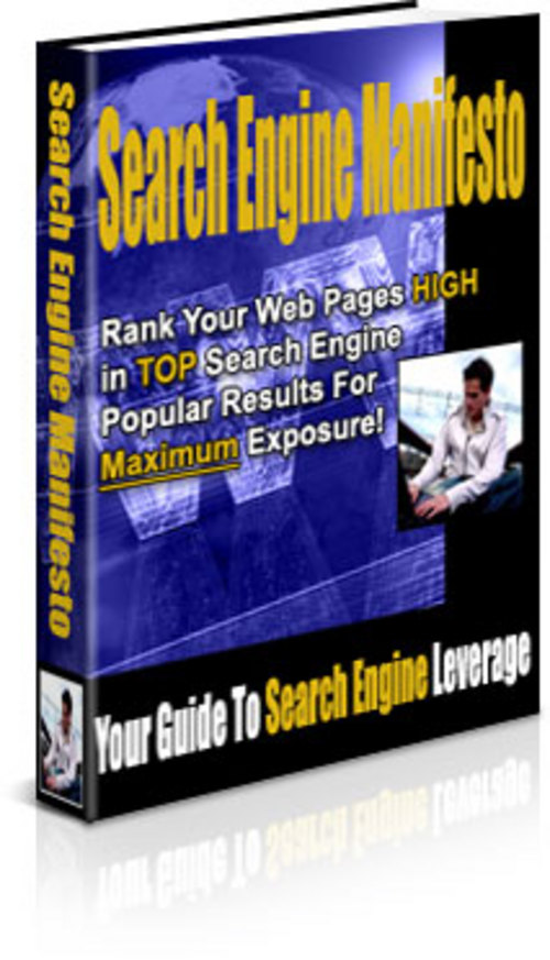 Pay for Search Engine Manifesto - New ebook with PLR