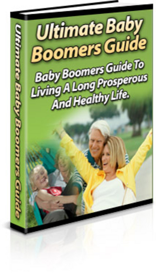 Pay for Baby Boomers Guide - New ebook with PLR