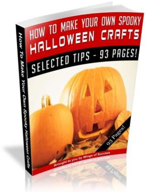 Pay for Halloween Crafts MRR ebook