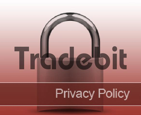 Pay for Privacy policy image - red - royalty free