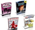 Thumbnail 4 No Restriction PLR eBooks with Reseller Website