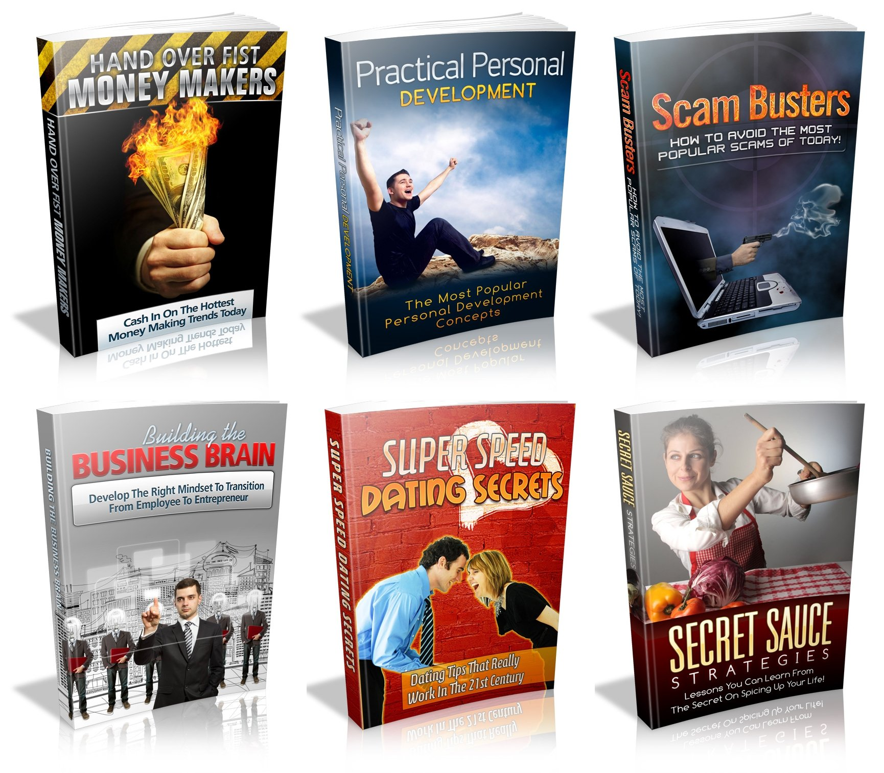 Pay for 6 Unrestricked PLR Ebook Bundle with PRICELESS BONUS!