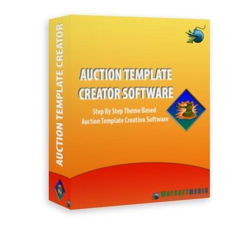 auction program template - auction template creator software mrr download graphics