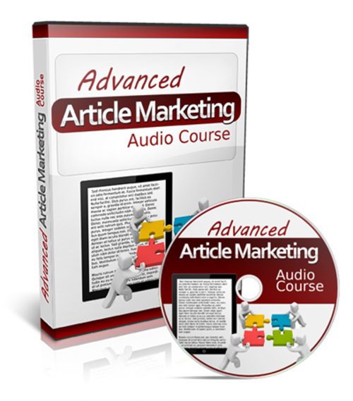 Pay for Advanced Article Marketing Audio Course with PLR
