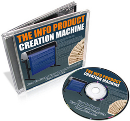Pay for Info Product Creation Machine with MRR
