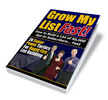 Thumbnail Grow My List Fast! plr