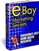 Thumbnail eBay Marketing Secrets plr
