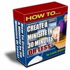 Thumbnail How To Create A Minisite In 30 Minutes Or Less plr