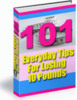 Thumbnail 101 Everyday Tips For Losing 10 Pounds plr