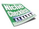 Thumbnail Niche Checklist plr